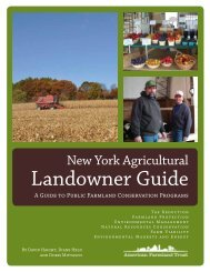 New York Agricultural Landowner Guide - Seneca County