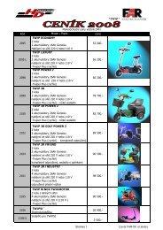 Ceník FAR 2008_ el.skutry - HD Com