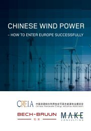 CHINESE WIND POWER - Bech-Bruun