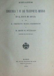 Adelantos siderurgia y transportes mineros - Cantu Santa Ana