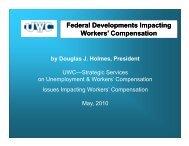 Federal Developments Impacting Federal Developments Impacting ...