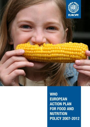 who european action plan for food and nutrition policy 2007-2012