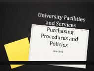 0 - Facilities and Services - University of Rochester