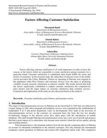 factors affecting customer perception in banking sectors Consumer perceptions of banking services: factors for the paper examined consumer perceptions of banking services as a analyzing factors affecting customers.