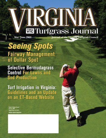 Journal of the Virginia Turfgrass Council May/June ... - The Paginator