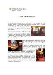 6 - Le Club Lounge - le cafe de la paix