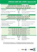 UAJ règlement du championnat junior Botswana 2012 - Page 3