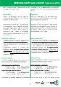 UAJ règlement du championnat junior Botswana 2012 - Page 5