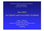 Das EKG bei Infarkt und reversibler Ischämie - Medizinische Klinik ...