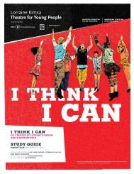 I THINK I CAN sTudy guIde - ArtsAlive.ca