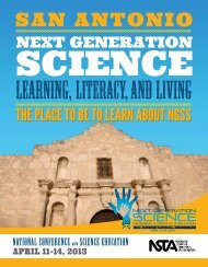 NatioNal CoNfereNCe on SCieNCe eduCatioN