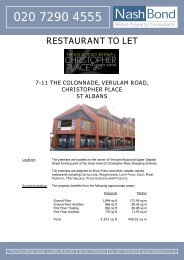 Details 7-11 The Colonade Verulam Road Christopher ... - RPAS