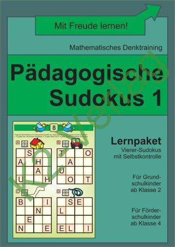 Sudoku 1 (schwarz-weiß)