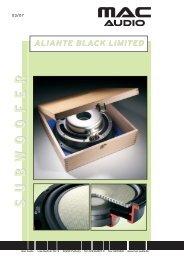 Aliante Black Limited - mac audio