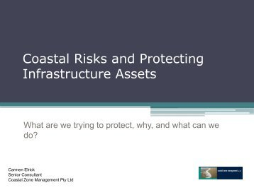 Coastal Risks and Protecting Infrastructure Assets