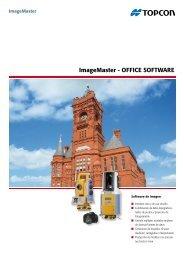 ImageMaster - OffIce SOftware - Topcon Positioning