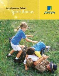 Spirit Bonus Fixed Annuity… - Business Underwriters Associates