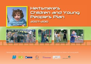 Hertsmere's Children and Young People's Plan 2007-2010