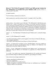 Décret n° 2-06-765 du 25 joumada I 1430 (21 mai 2009) portant ...