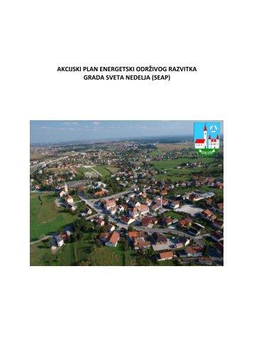 Akcijski plan energetski održivog razvitka Grada Sveta Nedelja