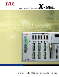 XSEL - P - 3 - Esco Drives & Automation