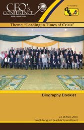 """Theme: """"Leading in Times of Crisis"""" - Carilec"""