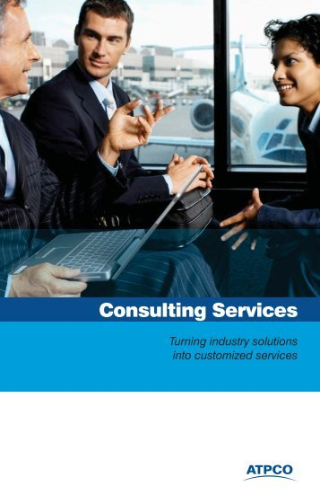 Consulting Services brochure - atpco