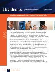 Highlights - Health Quality Ontario