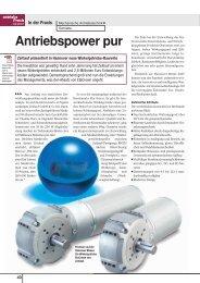Antriebspower pur - ZEITLAUF antriebstechnik