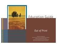 Education Guide - Nevada Arts Council
