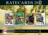 RATECARDS 2012