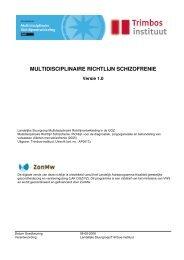 Multidisciplinaire richtlijn Schizofrenie - Nederlandse Vereniging ...