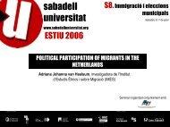 Adriana Johanna van Heelsum - Sabadell Universitat