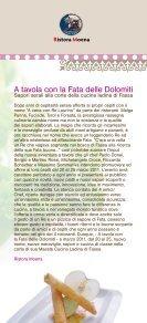 A tavola con la Fata delle Dolomiti - Strade del Vino e dei Sapori del ... - Page 3