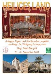 8. Dezember 2012 - Österreichisches Katholisches Bibelwerk