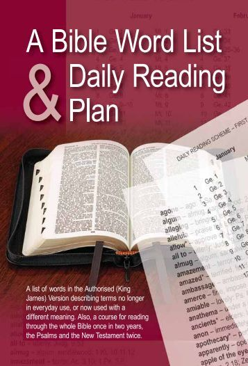 Bible Reading Plans - Chronological - ESV - Today's Reading