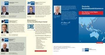 Deutsche Auslandshandelskammern - DIHK Publikationen