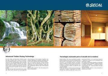 Tecnologia avanzada para el secado de la madera - Secal Srl