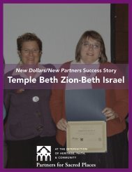 Temple Beth Zion-Beth Israel - Partners for Sacred Places