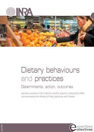 Determinants of dietary behaviours - Inra