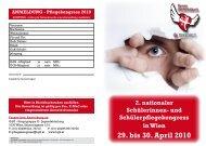 29. bis 30. April 2010 - Nurse-Communication