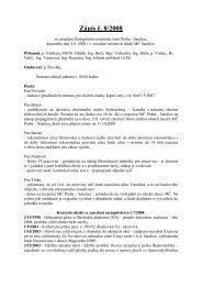 Zápis č. 8/2008 ze zasedání Zastupitelstva MČ Praha-Satalice ...