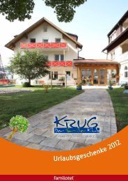 ALL inclusive - Hotel Krug