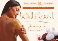 Beauty- und Wellnessprospekt herunterladen - Hotel Harms