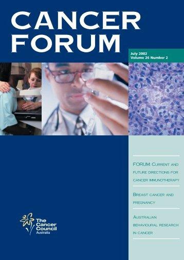 Cancer Forum