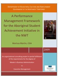 ASA Performance Management Framework - Education, Culture and ...