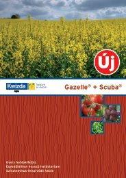 Gazelle® + Scuba® - Kwizda