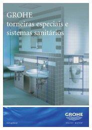 GROHE torneiras especiais e sistemas sanitários