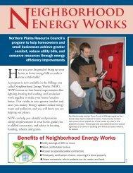 Neighborhood Energy Works - Northern Plains Resource Council