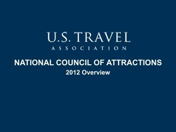 NCA Accomplishments for 2012 - US Travel Association